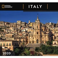 National Geographic, Italy Deluxe Calendar 2020 - Italy Gifts