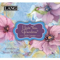 Susan Winget, I Love You Grandma Mini Desk Calendar 2020 - Grandma Gifts