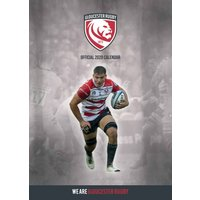 Gloucester Rugby A3 Calendar 2020 - Rugby Gifts