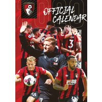 AFC Bournemouth A3 Calendar 2020 - Bournemouth Gifts