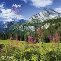 Alps Calendar 2020 - Travel Gifts