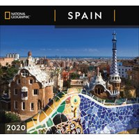 National Geographic, Spain Deluxe Calendar 2020 - Spain Gifts