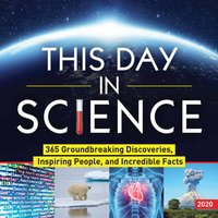 This Day In Science Desk Calendar 2020 - Science Gifts