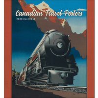 Canadian Travel Posters Calendar 2020 - Travel Gifts