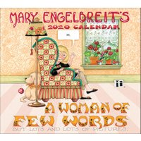 Mary Engelbreits's A Woman Of Few Words Deluxe Calendar 2020 - Woman Gifts