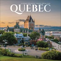 Quebec Calendar 2020 - Travel Gifts