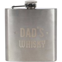 Dad's Whisky Hip Flask - Hip Flask Gifts