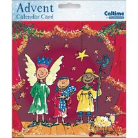 Children's Nativity Advent Card - Family Gifts