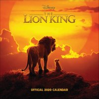 Disney, The Lion King Official Calendar 2020 - Lion King Gifts