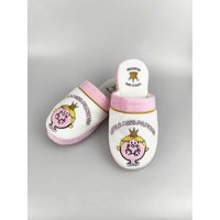Little Miss Princess Slippers - Women's UK 5-7 - Humour Gifts