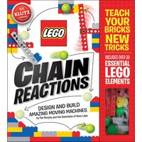 Lego, Chain Reactions Activity Book - Entertainment Gifts