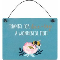 Blossom & Bee, Wonderful Mum Sign - Bee Gifts