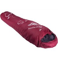 Sprayway Challenger 350 Jnr Heart Sleeping Bag - Ruby / LZ
