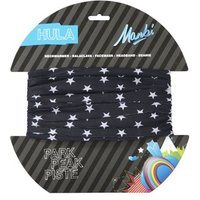 Manbi Hula Pattern Neck Tubes - Small Stars Black