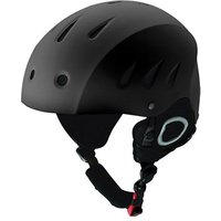 Manbi Park Junior Snow Sports Helmet - Black / 53-54cm / XS
