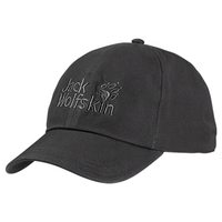 Jack Wolfskin Baseball Cap - Dark Steel / 56-61cms