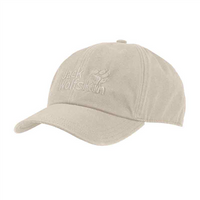 Jack Wolfskin Baseball Cap - Light Sand / 56-61 cm