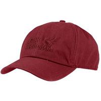 Jack Wolfskin Baseball Cap - Red Maroon / 56-61 cm