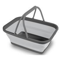 Kampa Folding Washing Bowl - Medium - Grey