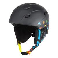 Manbi Park Kids Ski Helmet - Invaders/ Black 51-52cm XXS