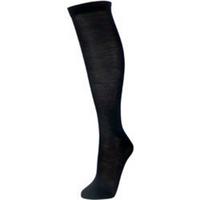 Manbi Silk sock - UK 7-9.5 EU 41-44 Black
