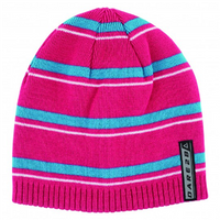 Dare2b Inherant Kids Beanie - 7-10 Electric Pink/Freshwater Blue
