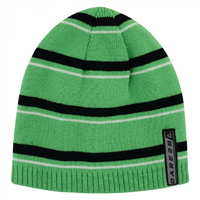 Dare2b Inherant Kids Beanie - 7-10 Black/Fairway Green