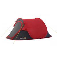 Regatta Malawi 2 Pop Up Tent 2019 - Pepper Red / Seal Grey