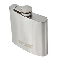 Regatta 170ml Stainless Steel Hip Flask 2019 - 170ml / 6oz Silver