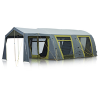Zempire Airforce 1 Inflatable Canvas Tent - Olive/Charcoal