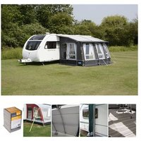 Kampa Ace Air Pro 400 All Season Caravan Awning Package Deal 2019