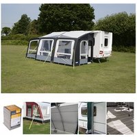 Kampa Rally Air Pro 390 PLUS Caravan Awning Package Deal 2019 RIGHT
