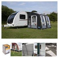 Kampa Rally AIR Pro 260 Caravan Awning Package Deal 2019