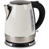 Kampa Stainless Steel Cream Electric Kettle 2018 - Cream