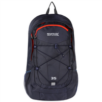 Regatta Atholl 35L Backpack - Dark Denim/Amber Glow