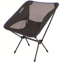 Summit Pack Away Ultra Light Chair - Black / Red