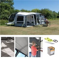 Kampa Club Air PRO 390 PlUS Caravan Awning Package Deal 2019 LEFT - Left