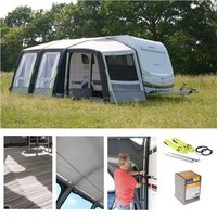 Kampa Rally AIR Pro 260 PLUS Caravan Awning Package Deal 2019 RIGHT - Right