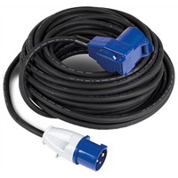 Kampa Mains Connection Lead with Coupler 2019 - Lead