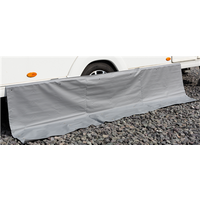 Kampa Dual Fix Draught Skirt 70cm Drop with Limpets - 330cm 8 Limpets