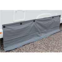 Kampa Dual Fix Draught Skirt 70cm Drop with Limpets - 260cm 6 Limpets