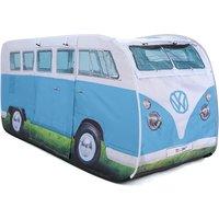 VW Camper Van Kids Pop Up Play Tent - Blue