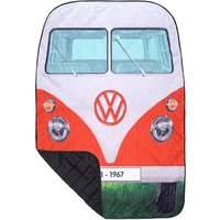 VW Quilted Picnic Rug - Red