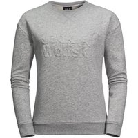 Jack Wolfskin Logo Sweatshirt - Light Grey