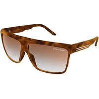Urban Beach Shield Sunglasses - Tortoiseshell