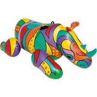 Bestway Pop Art Rhino Inflatable Rider