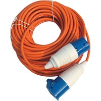 Kampa 10M Mains Connection Lead - Orange 3G1.5