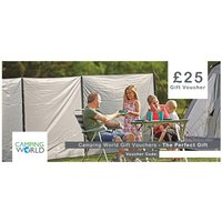 Camping World Gift Vouchers - 25