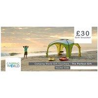 Camping World Gift Vouchers - 30