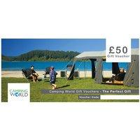 Camping World Gift Vouchers - 50